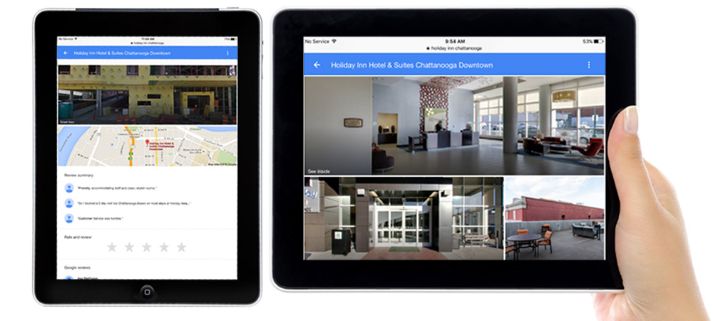 Google Tour Holiday Inn Before After