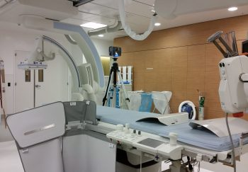 Laser Scanning in Hospital Room