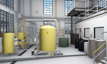 Steam Plant Interior Tank Rendering