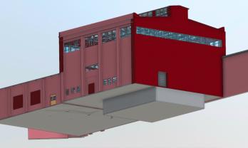 Glycerin Plant 3d Industrial Model