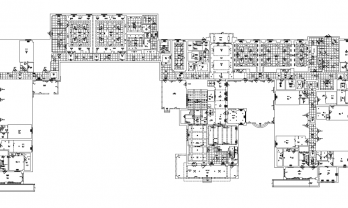 Hospitality Asbuilt Floorplan Inn Guest Area