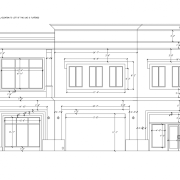 Retail Store Exterior Elevations