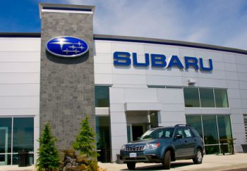 Sign Survey Automotive Subaru