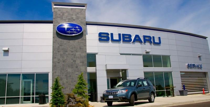 Sign Survey Automotive Subaru