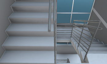 VCBR-Medical-Office-Building-Stairwell